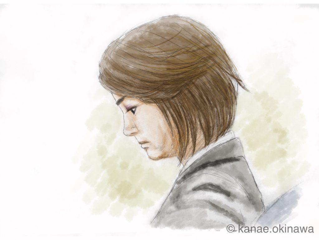 羽賀研二被告の妻 横顔