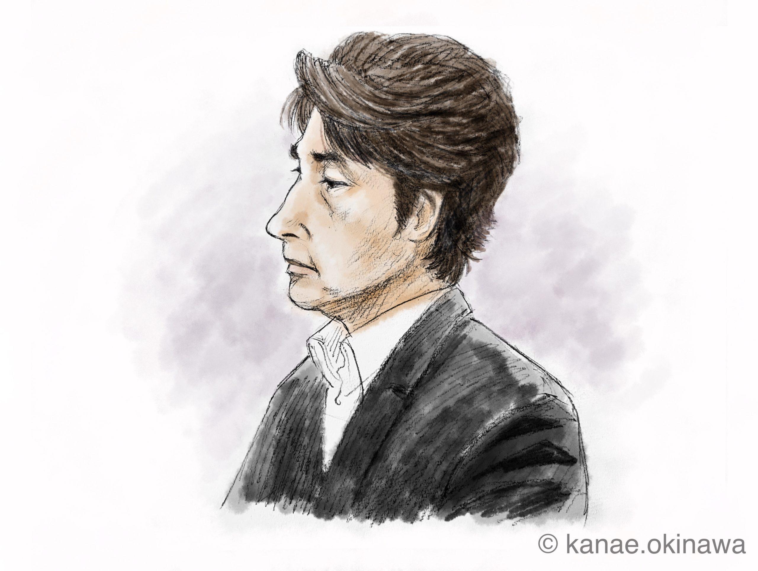 羽賀研二被告 横顔